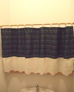 棚のカーテン